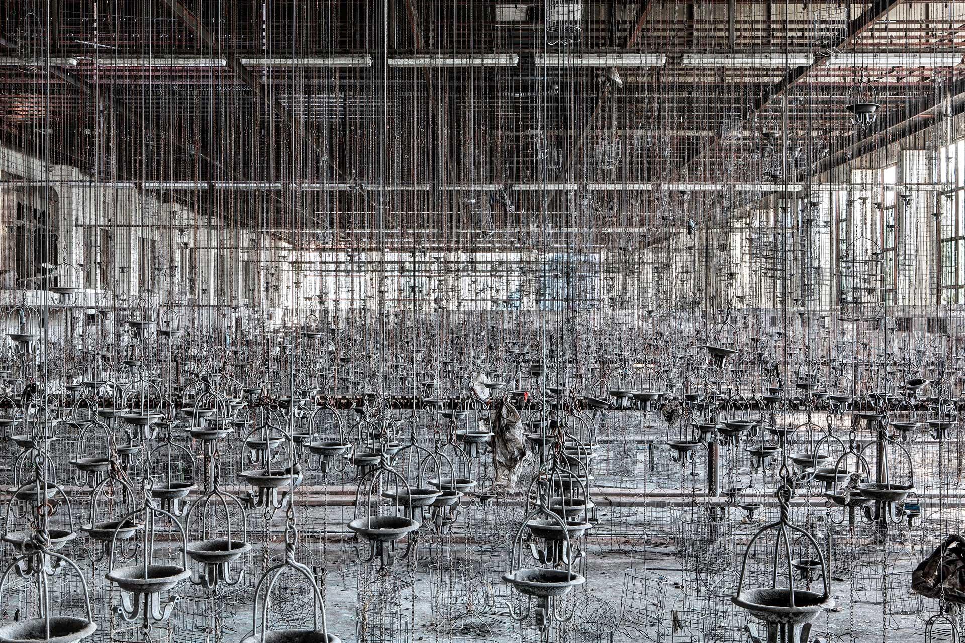 photo d'architecture abandonnée prise par julien cresp, photographe en allemagne